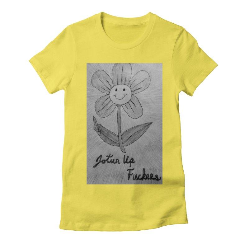 Jotun Up Blk&Wht Women's T-Shirt by Mind-art Passion