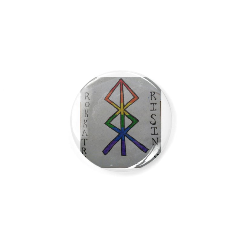 Rokkatru Rising Pride Accessories Button by Mind-art Passion