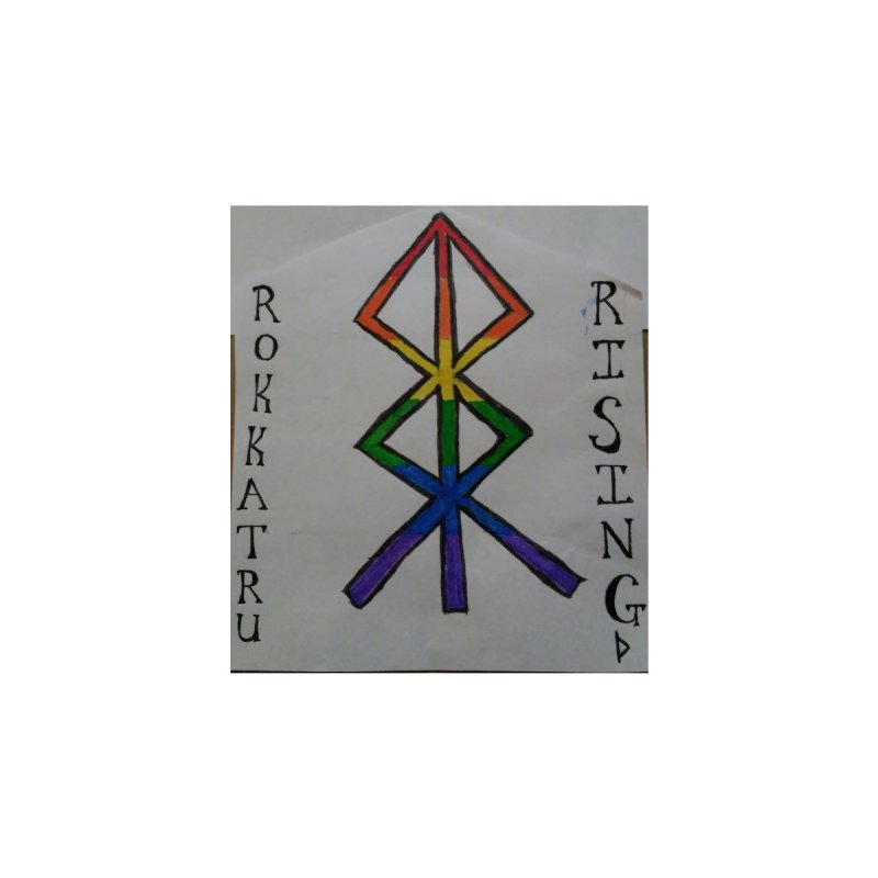 Rokkatru Rising Pride Accessories Magnet by Mind-art Passion
