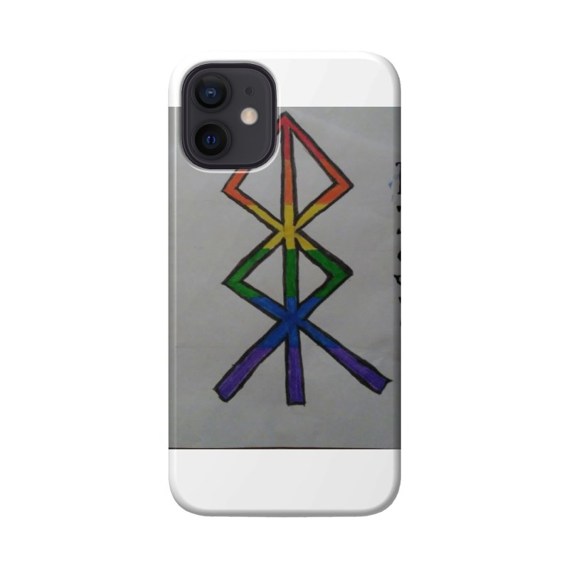 Rokkatru Rising Pride Accessories Phone Case by Mind-art Passion