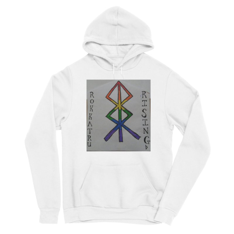 Rokkatru Rising Pride Men's Pullover Hoody by Mind-art Passion