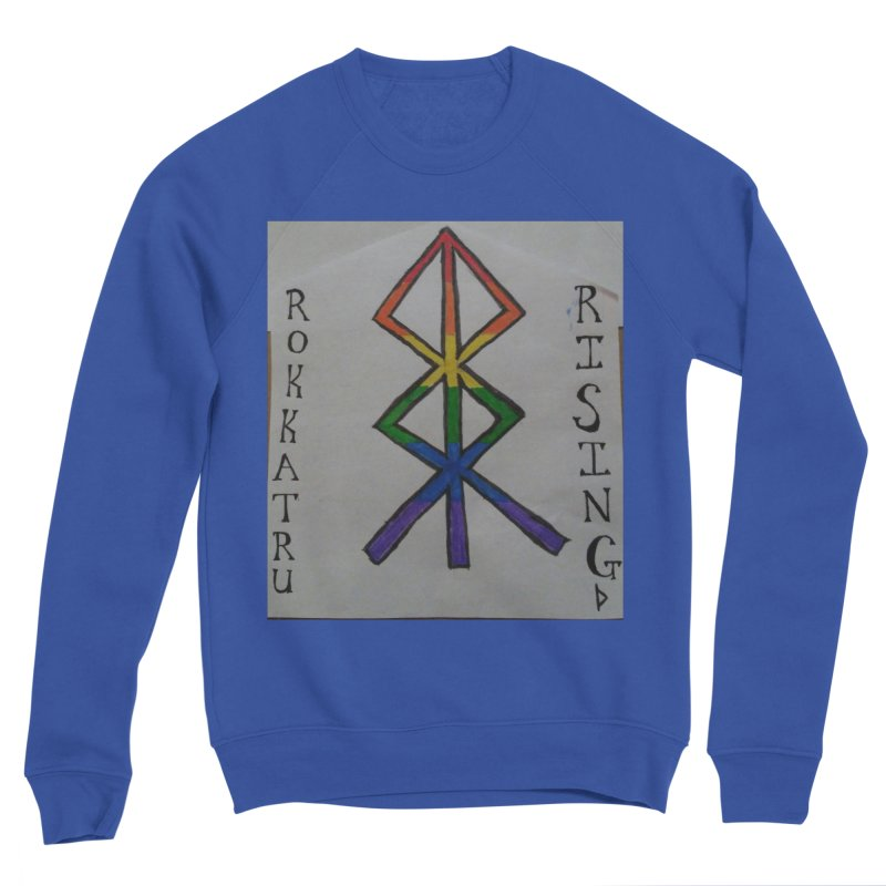 Rokkatru Rising Pride Men's Sweatshirt by Mind-art Passion