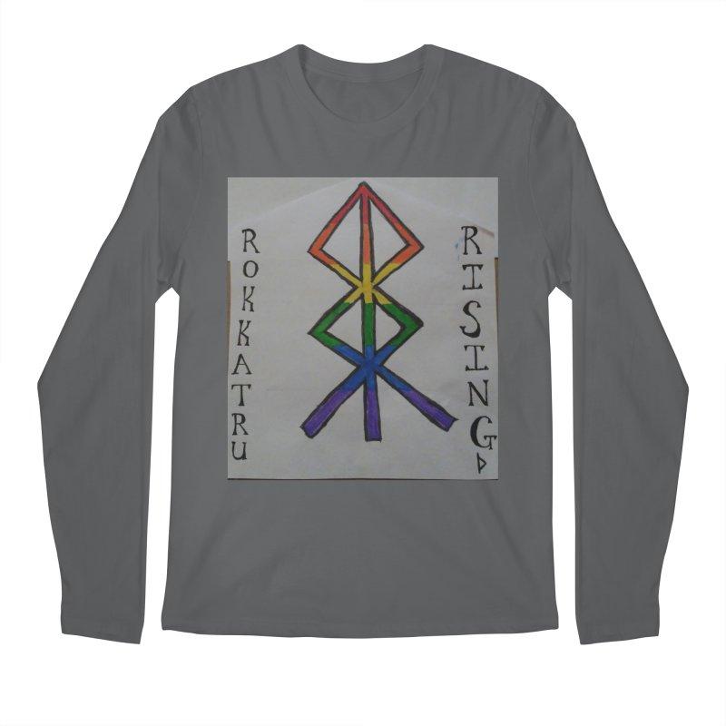 Rokkatru Rising Pride Men's Longsleeve T-Shirt by Mind-art Passion