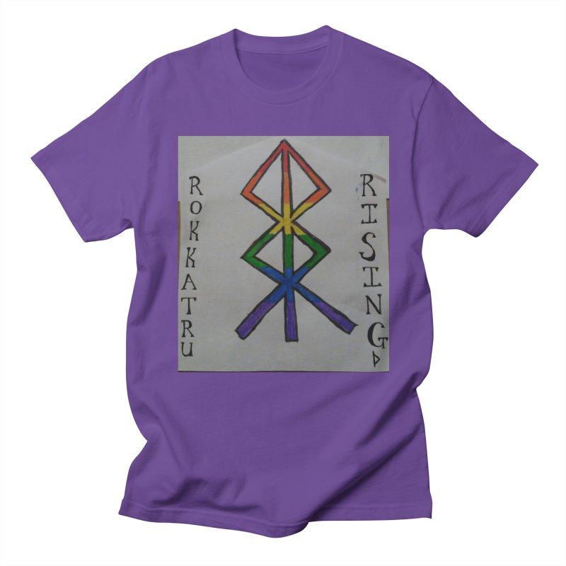 Rokkatru Rising Pride Men's T-Shirt by Mind-art Passion