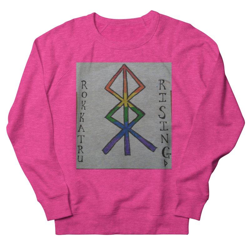 Rokkatru Rising Pride Women's French Terry Sweatshirt by Mind-art Passion