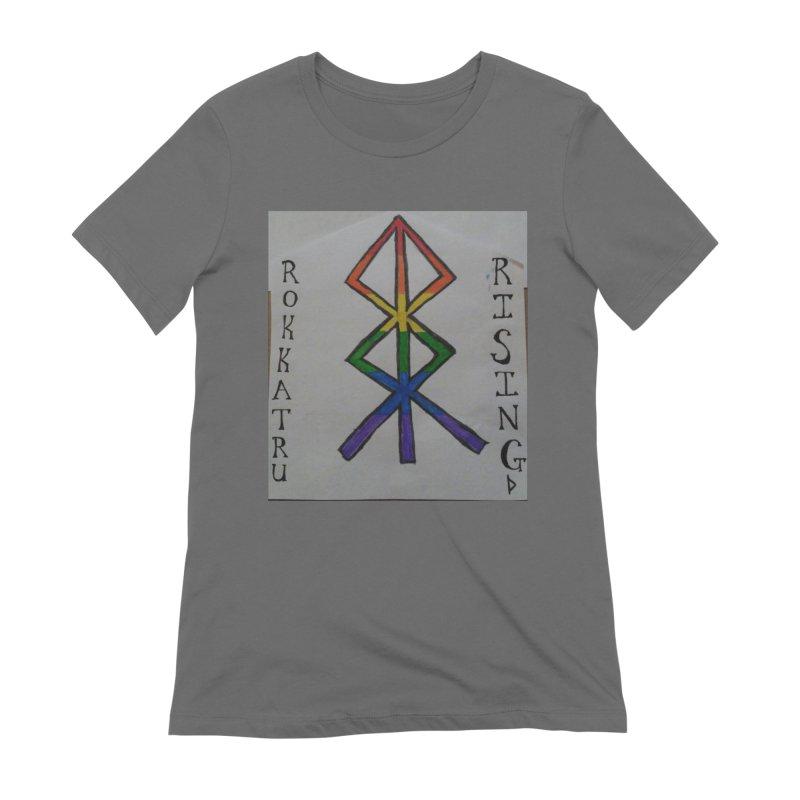 Rokkatru Rising Pride Women's T-Shirt by Mind-art Passion
