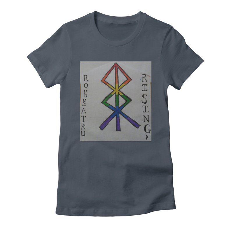 Rokkatru Rising Pride Women's T-Shirt by Mind-art Passion