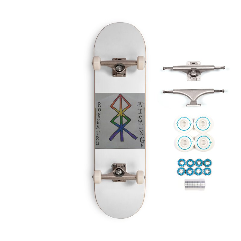 Rokkatru Rising Pride Accessories Complete - Basic Skateboard by Mind-art Passion