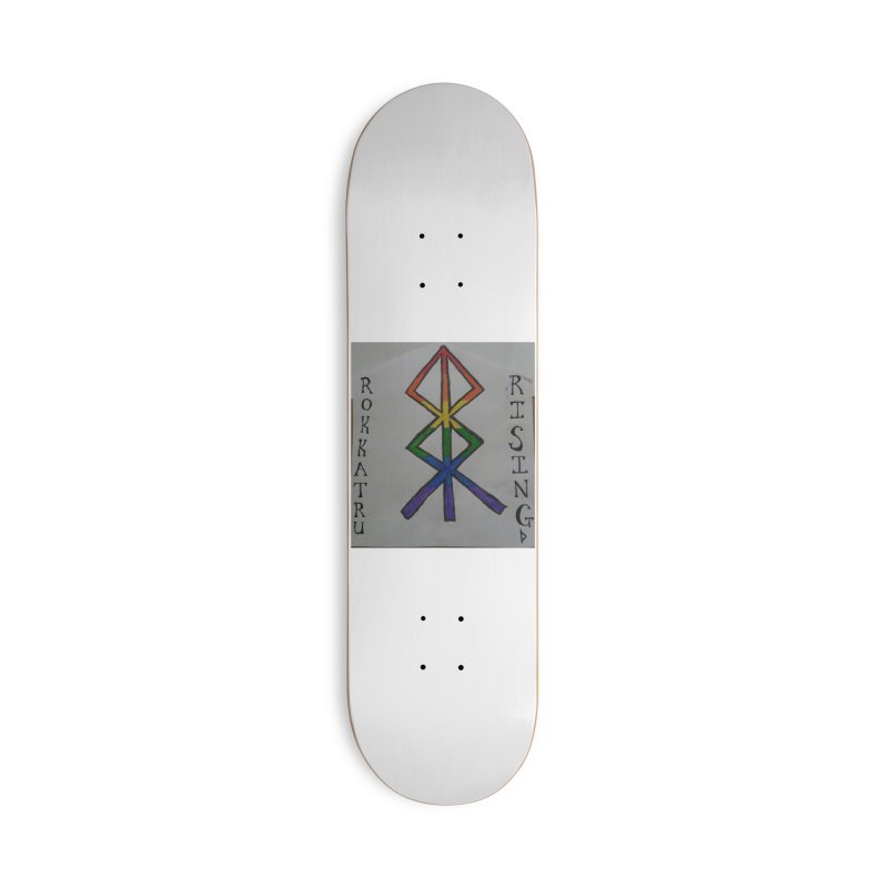 Rokkatru Rising Pride Accessories Deck Only Skateboard by Mind-art Passion