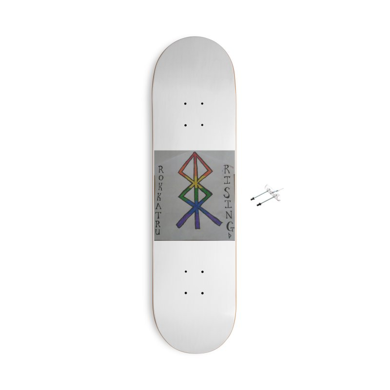 Rokkatru Rising Pride Accessories Skateboard by Mind-art Passion