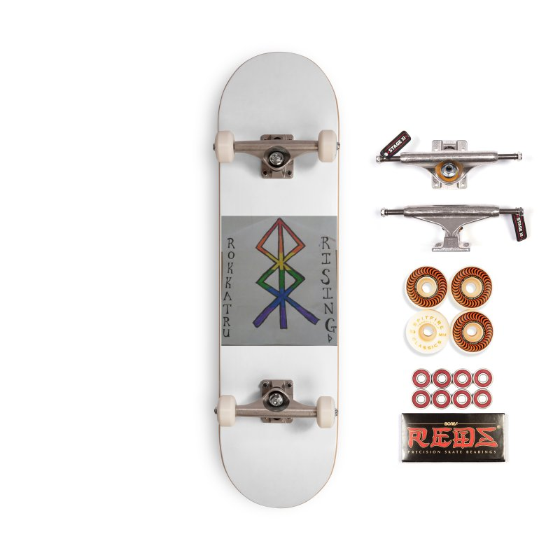 Rokkatru Rising Pride Accessories Skateboard by Mind-art Passion