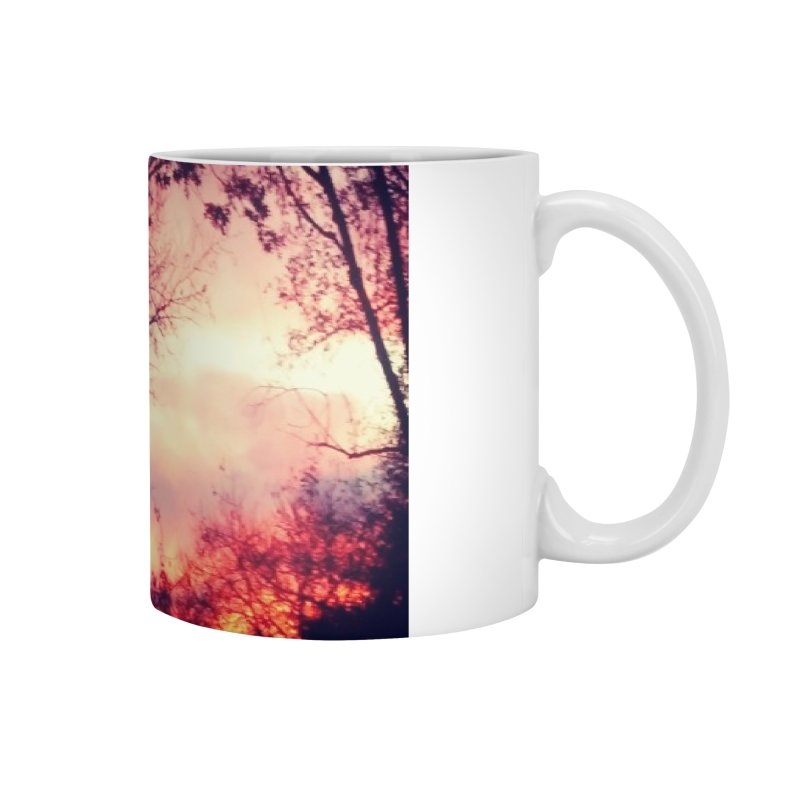 Fiery Sunset Accessories Mug by Mind-art Passion