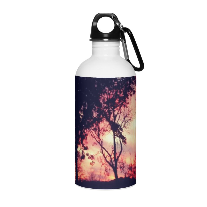 Fiery Sunset Accessories Water Bottle by Mind-art Passion