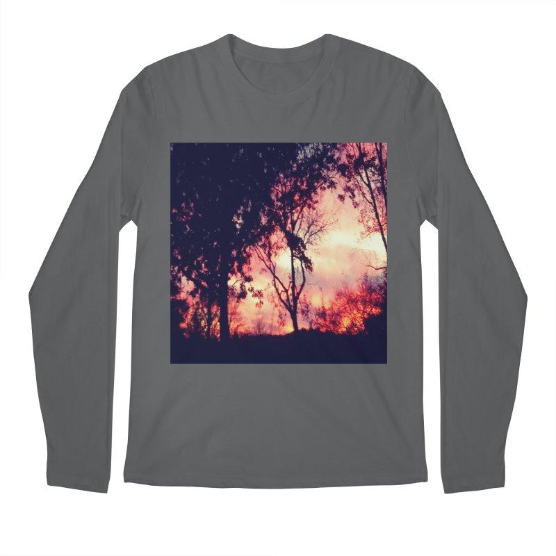 Fiery Sunset Men's Longsleeve T-Shirt by Mind-art Passion