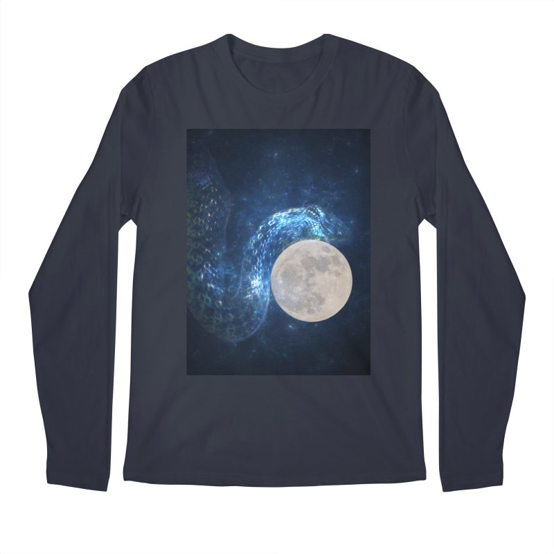 Jormungandr Men's Regular Longsleeve T-Shirt by Mind-art Passion