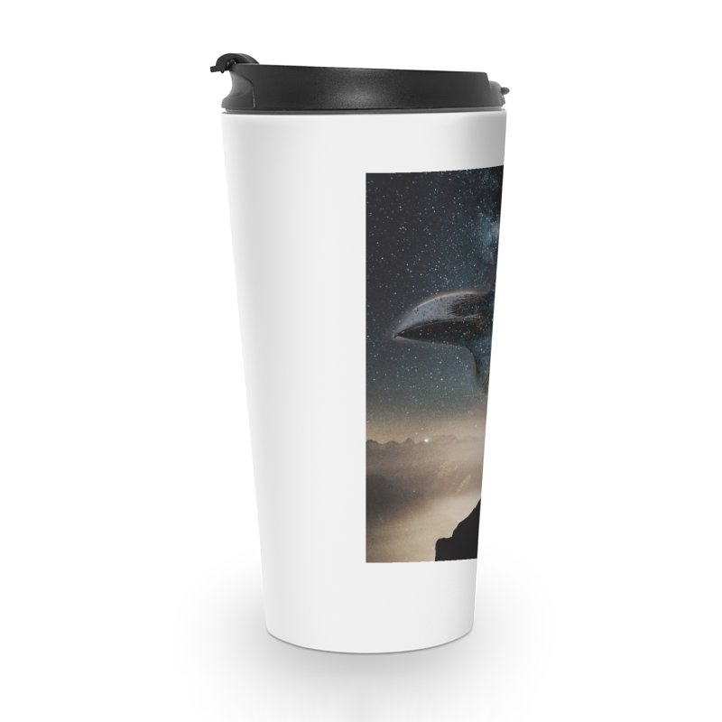 Old Crow Accessories Travel Mug by Mind-art Passion
