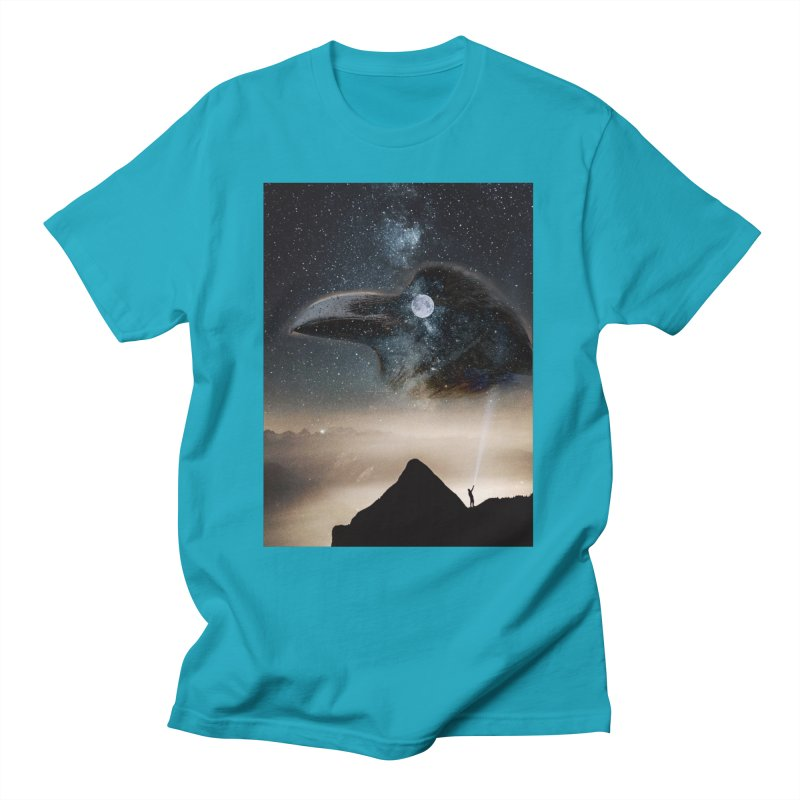 Old Crow Men's T-Shirt by Mind-art Passion