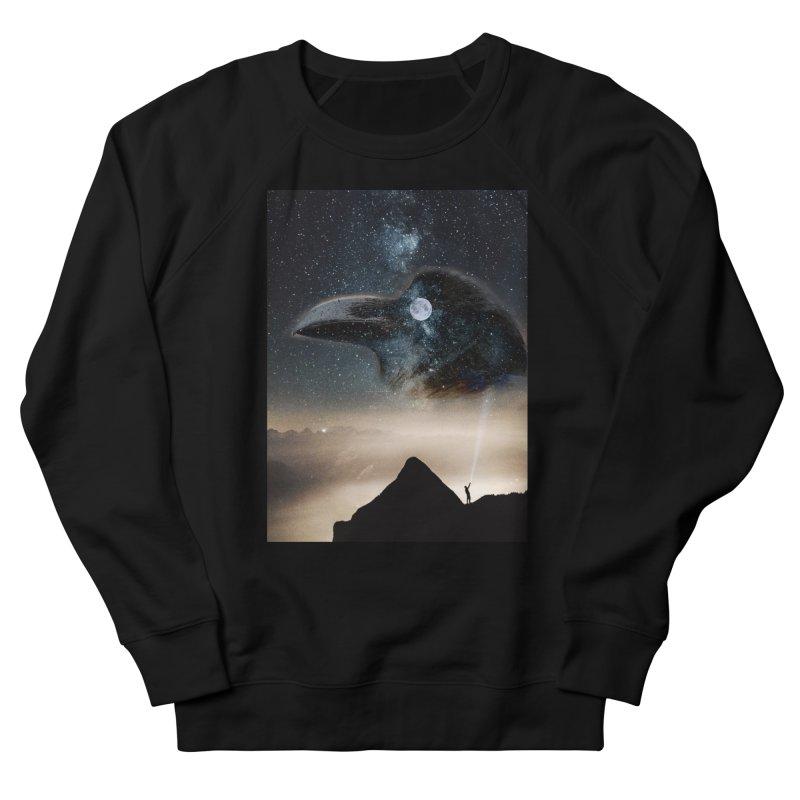 Old Crow Men's Sweatshirt by Mind-art Passion