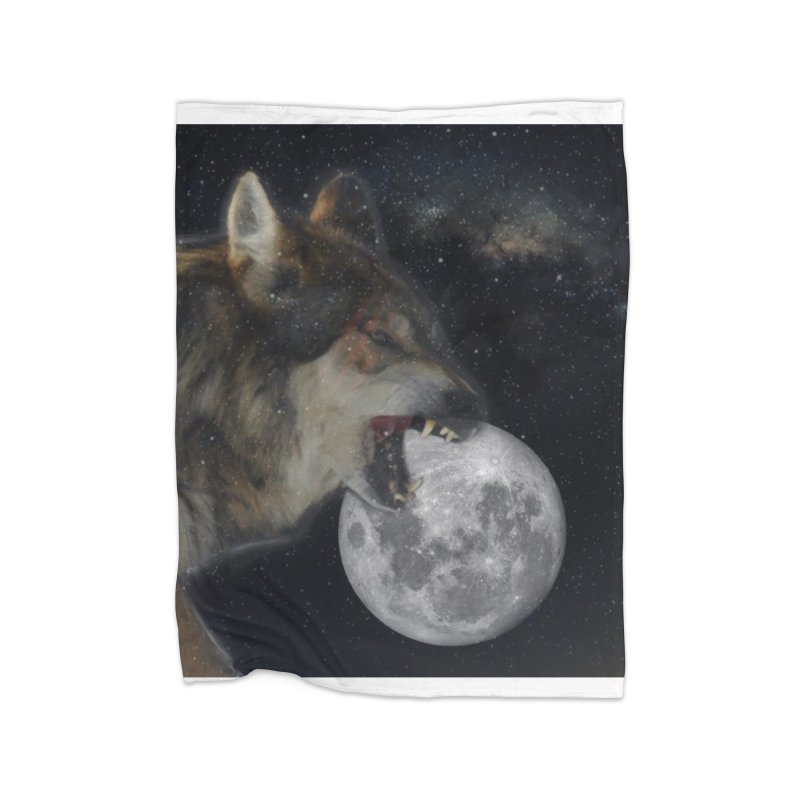 Fenrir Home Blanket by Mind-art Passion