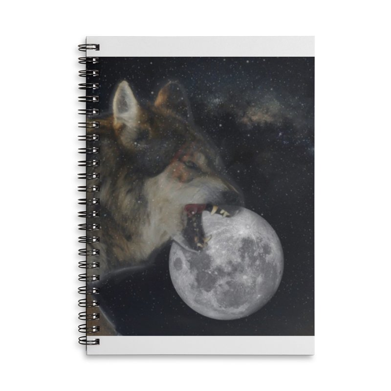 Fenrir Accessories Notebook by Mind-art Passion
