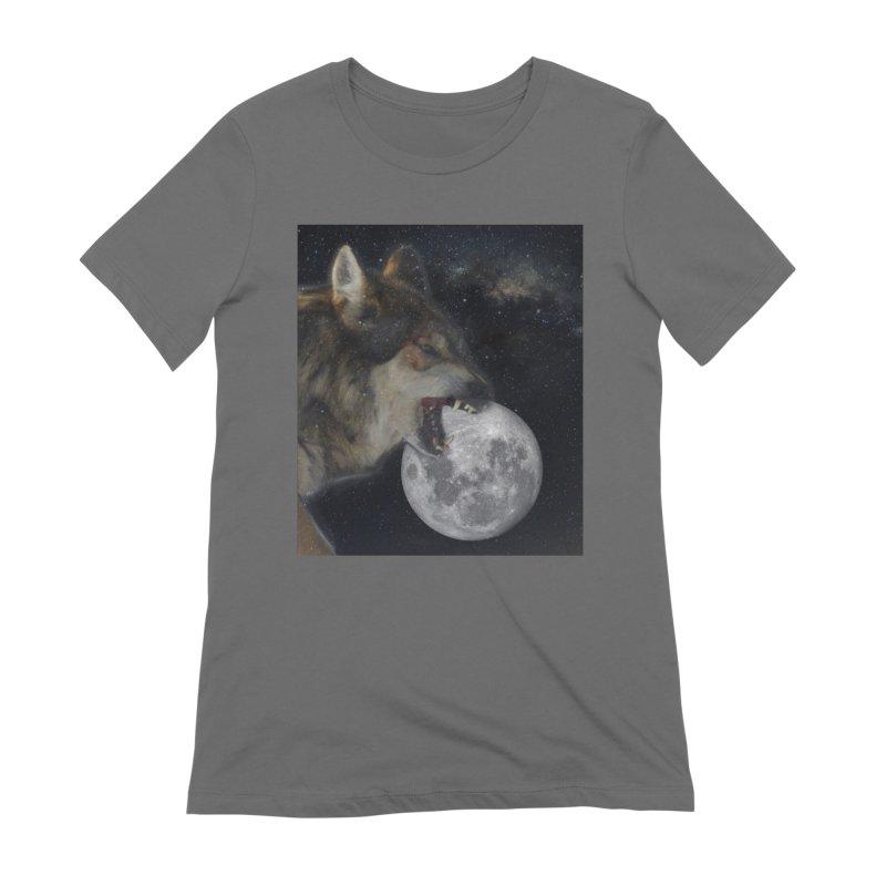 Fenrir Women's T-Shirt by Mind-art Passion