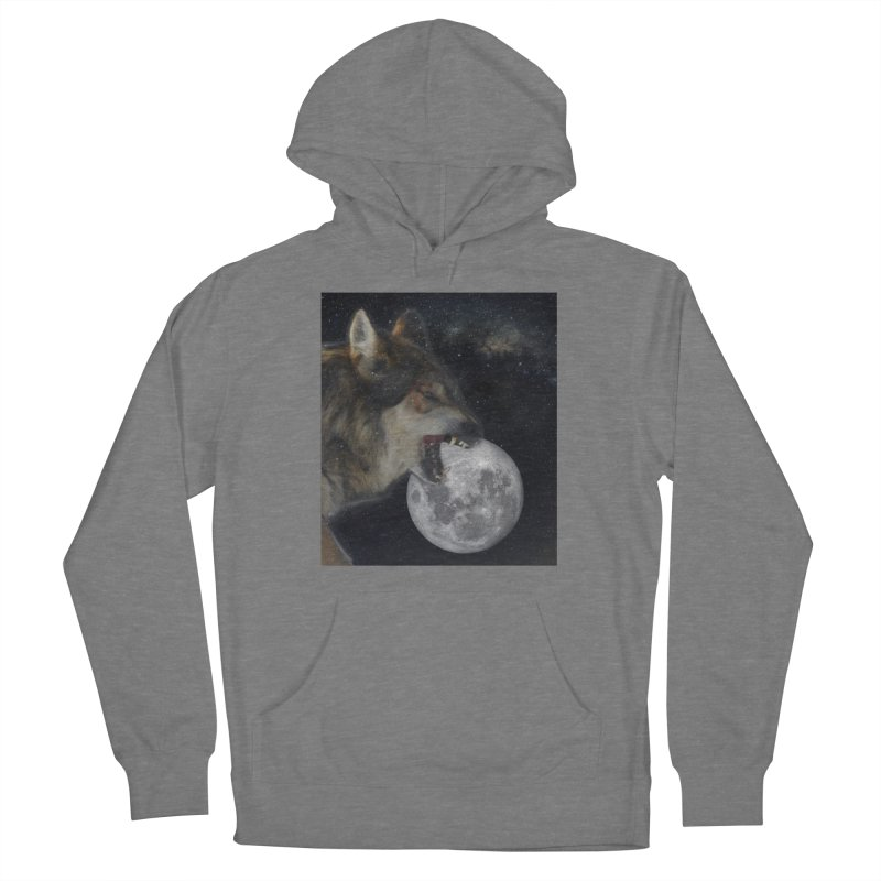 Fenrir Women's Pullover Hoody by Mind-art Passion