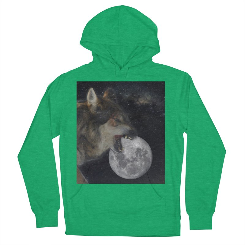 Fenrir Men's French Terry Pullover Hoody by Mind-art Passion
