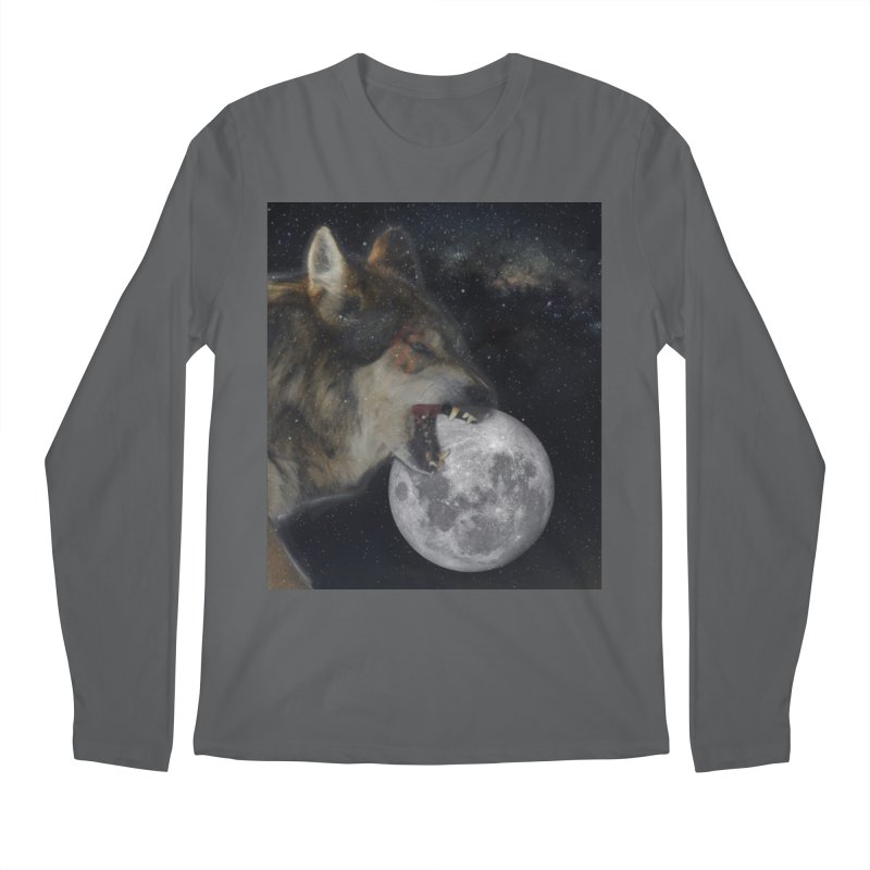 Fenrir Men's Regular Longsleeve T-Shirt by Mind-art Passion