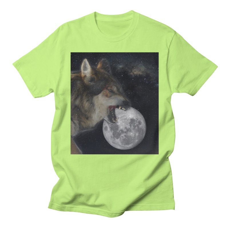 Fenrir Men's T-Shirt by Mind-art Passion