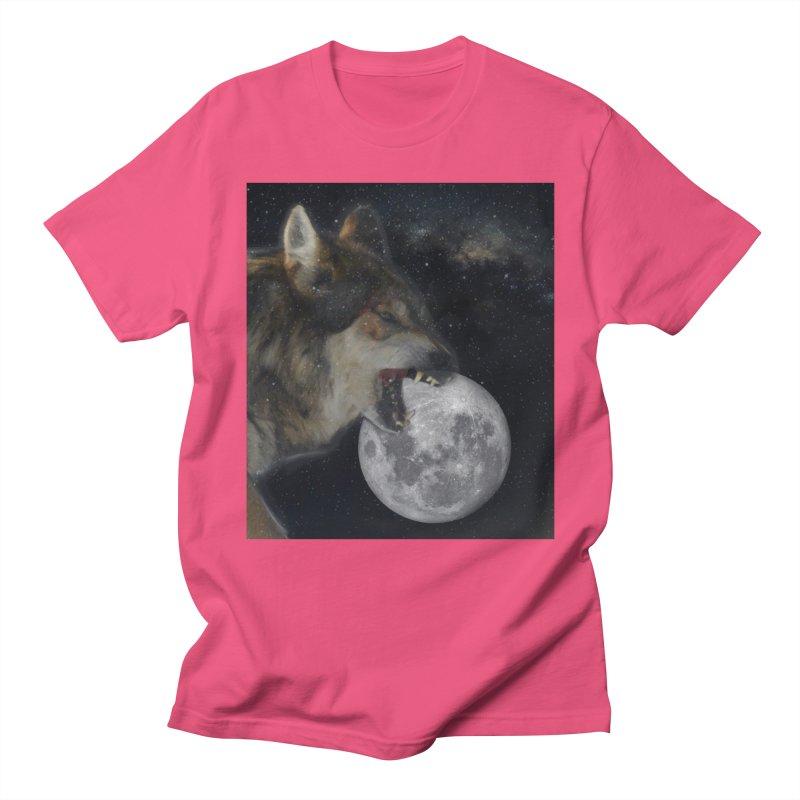 Fenrir Men's T-Shirt by Mind-art Passion