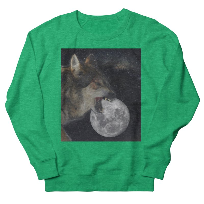 Fenrir Women's Sweatshirt by Mind-art Passion