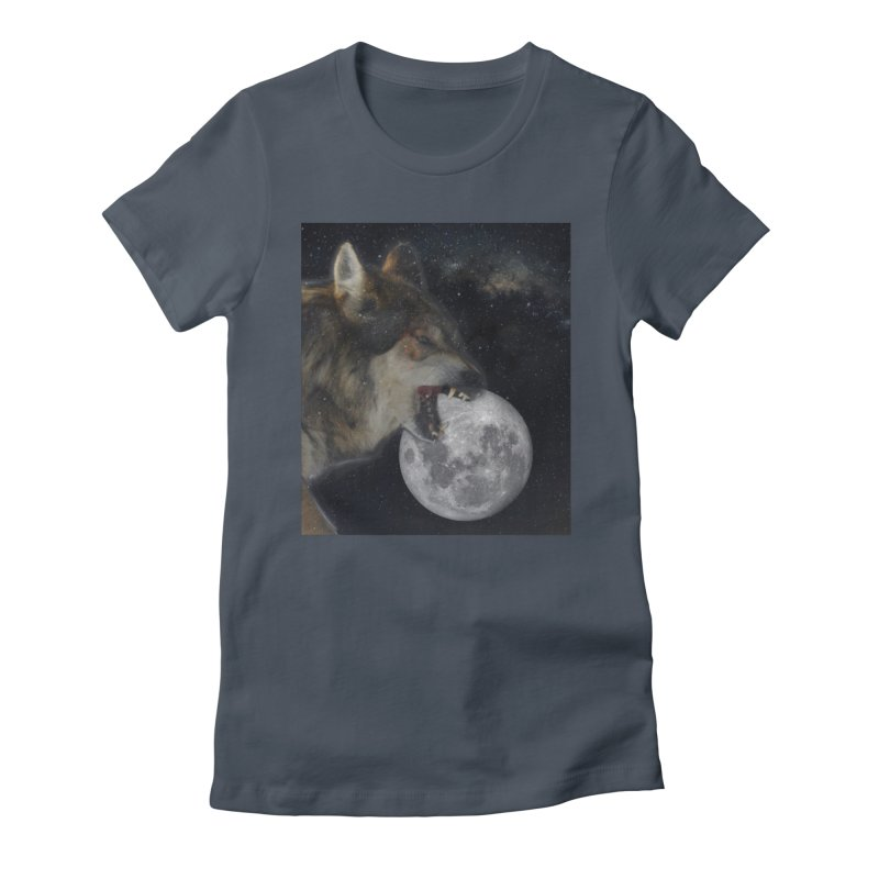 Fenrir Women's T-Shirt by Mind-art Passion