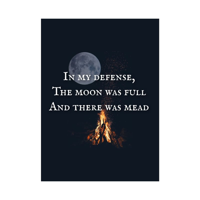 Full Moon Funny Accessories Beach Towel by Mind-art Passion