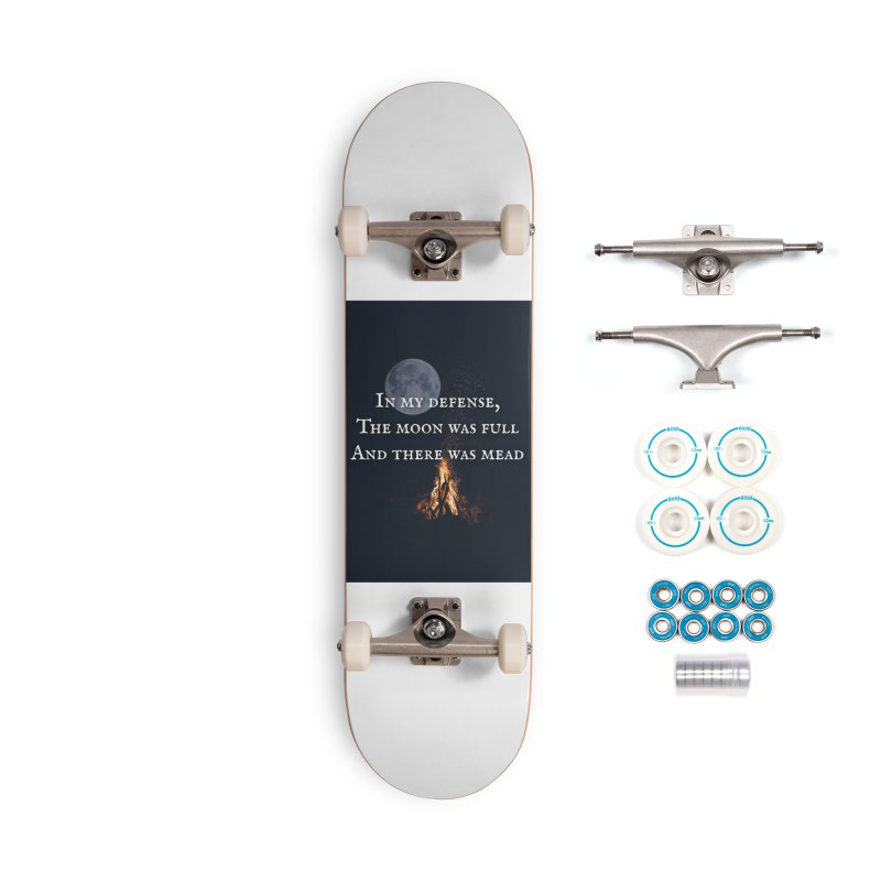 Full Moon Funny Accessories Complete - Basic Skateboard by Mind-art Passion