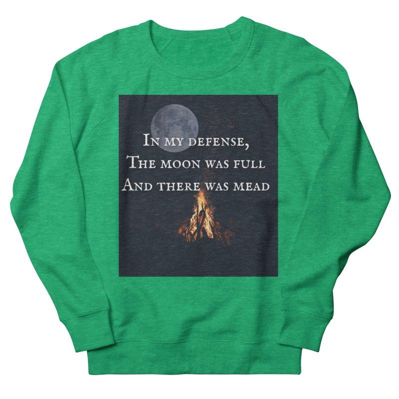Full Moon Funny Women's Sweatshirt by Mind-art Passion