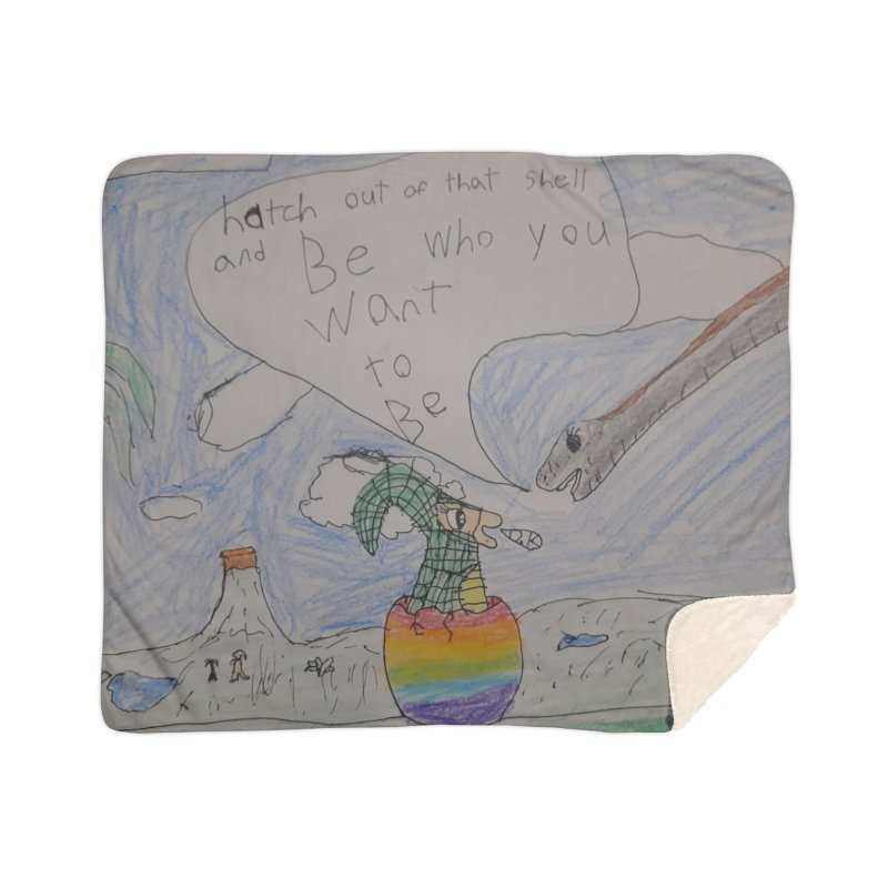 Break out with Pride Home Blanket by Mind-art Passion