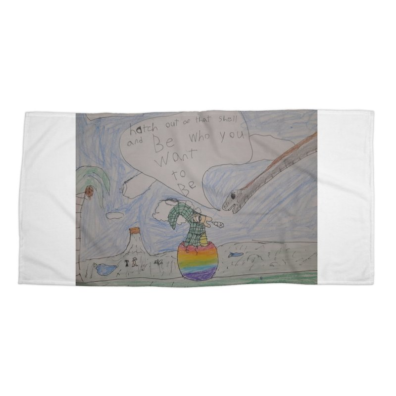 Break out with Pride Accessories Beach Towel by Mind-art Passion