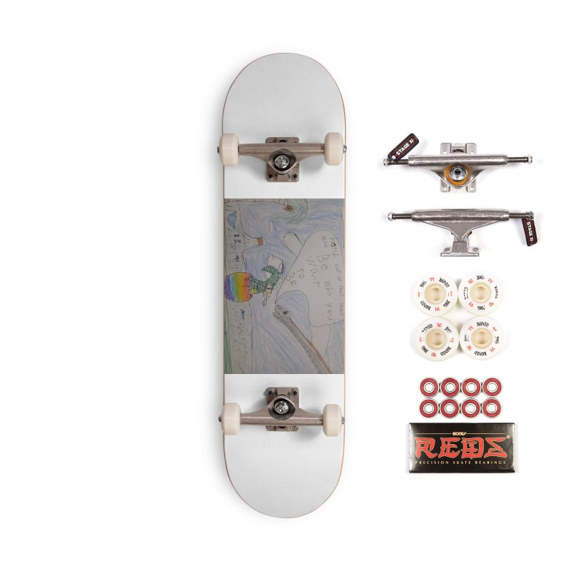 Break out with Pride Accessories Skateboard by Mind-art Passion