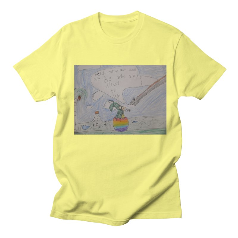 Break out with Pride Men's T-Shirt by Mind-art Passion