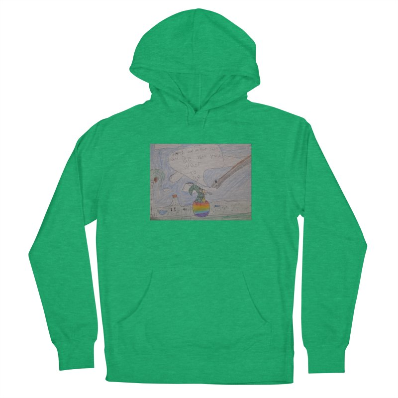 Break out with Pride Men's Pullover Hoody by Mind-art Passion