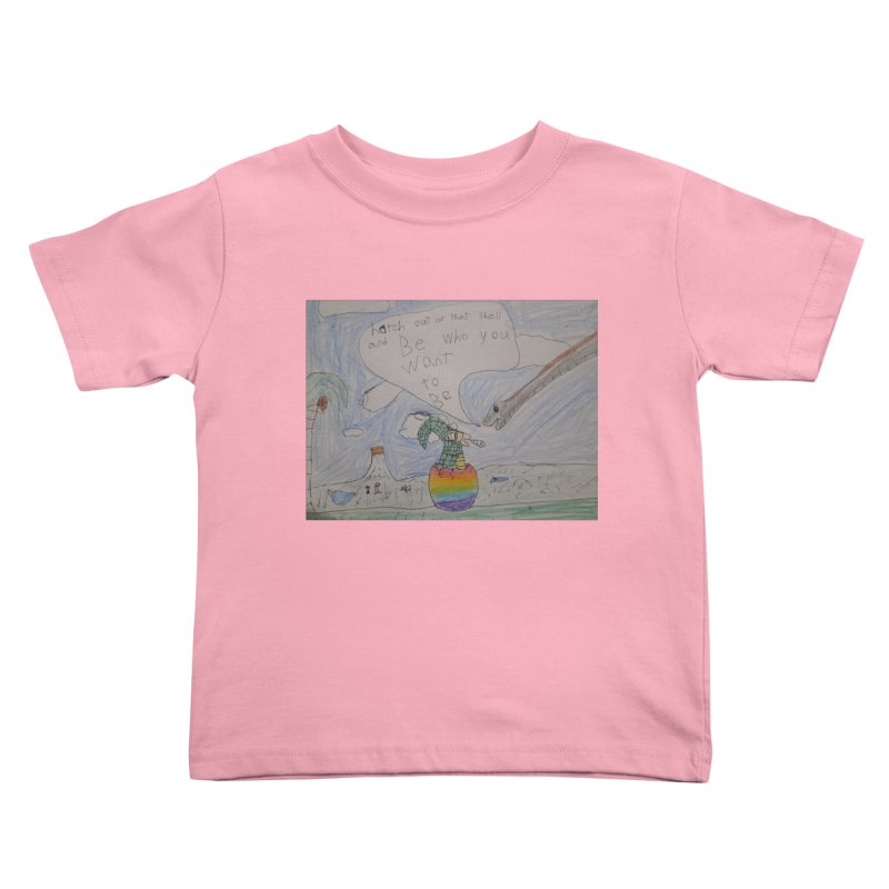 Break out with Pride Kids Toddler T-Shirt by Mind-art Passion