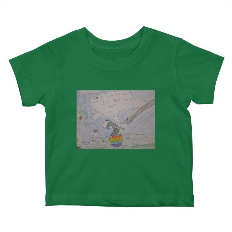 Break out with Pride Kids Baby T-Shirt by Mind-art Passion