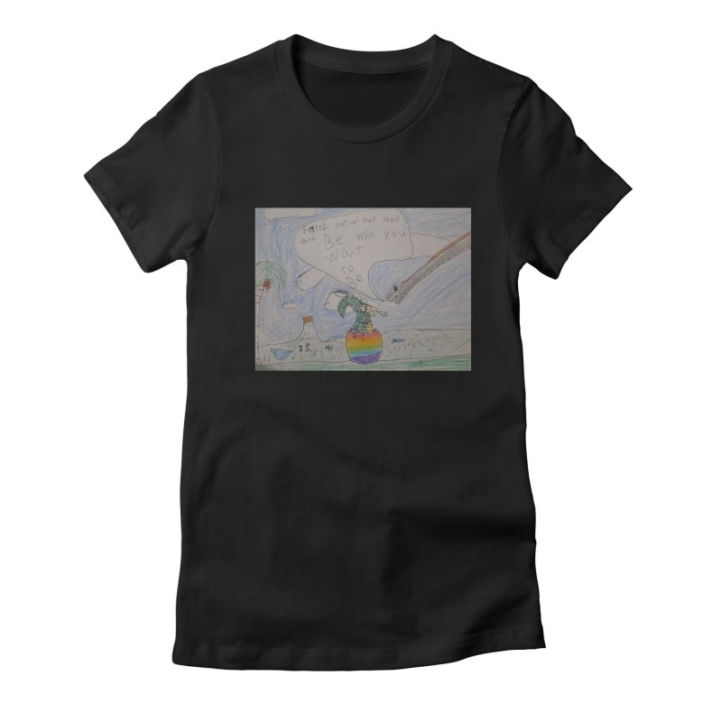 Break out with Pride Women's T-Shirt by Mind-art Passion