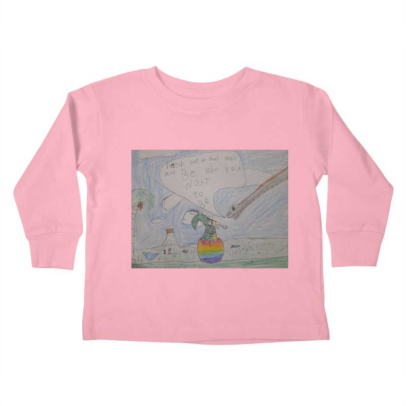 Break out with Pride Kids Toddler Longsleeve T-Shirt by Mind-art Passion