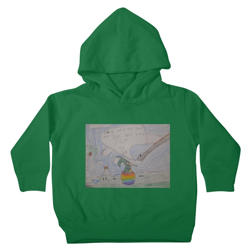 Break out with Pride Kids Toddler Pullover Hoody by Mind-art Passion