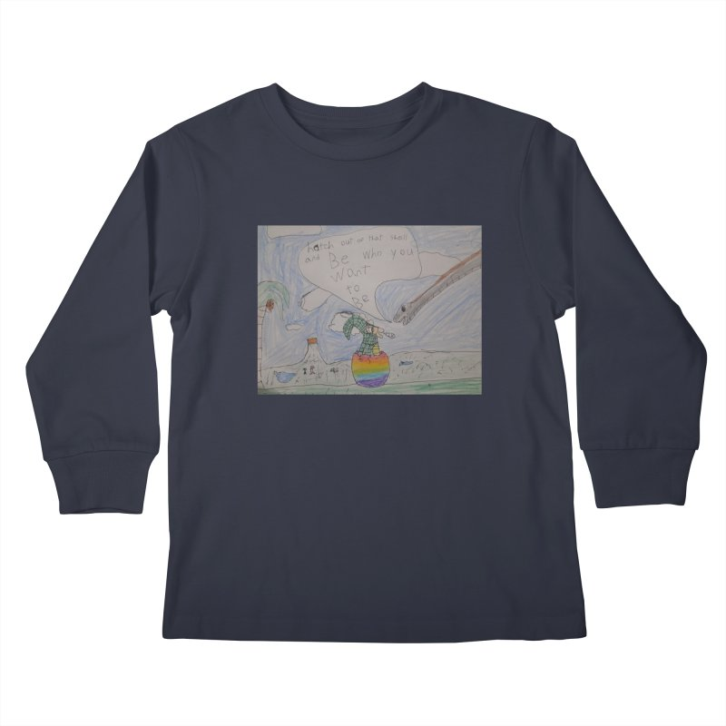 Break out with Pride Kids Longsleeve T-Shirt by Mind-art Passion