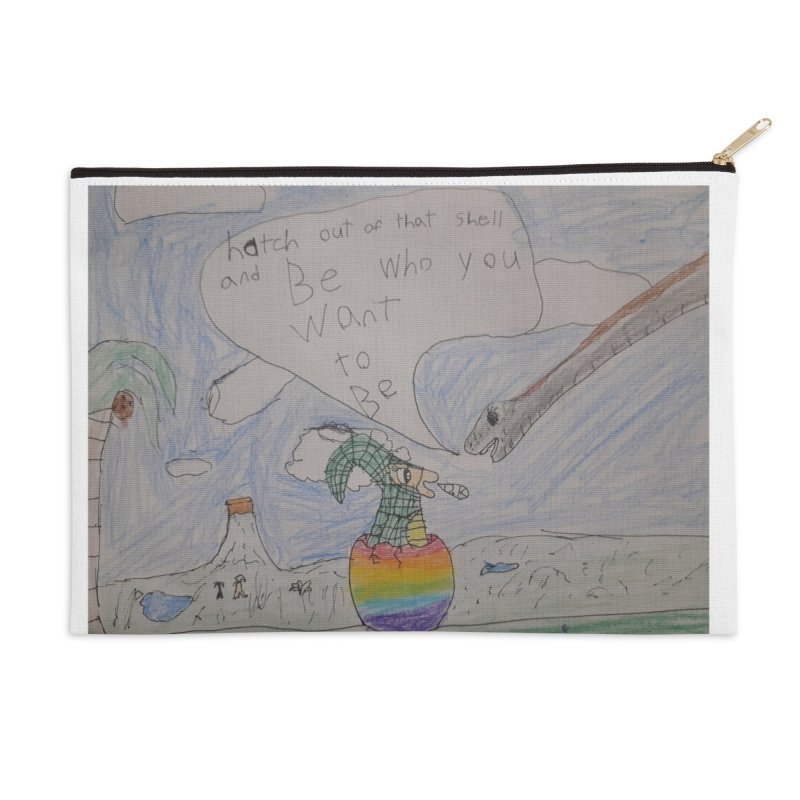 Break out with Pride Accessories Zip Pouch by Mind-art Passion