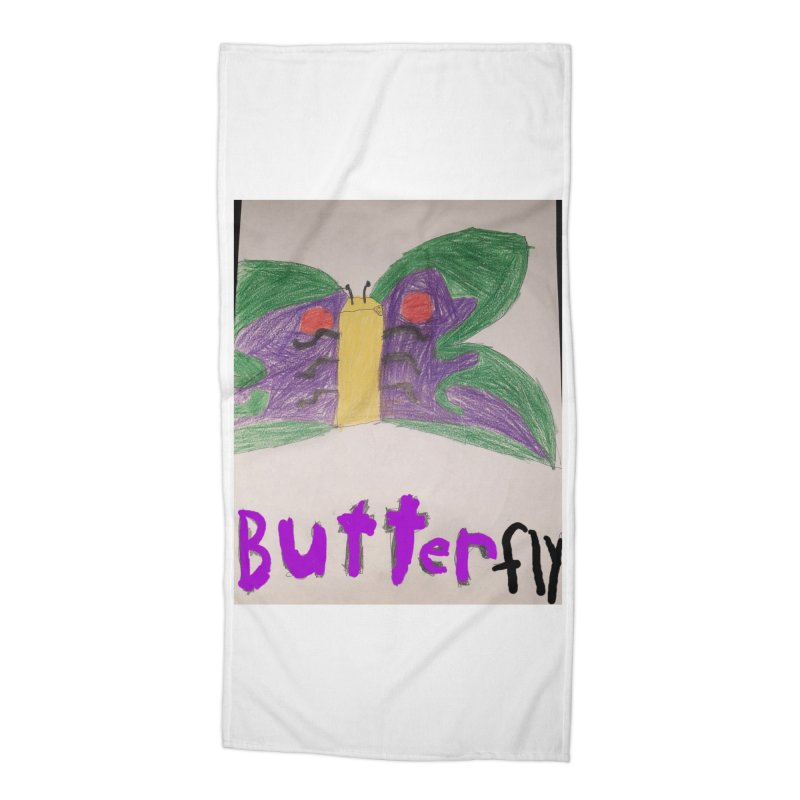 BUTTERfly Accessories Beach Towel by Mind-art Passion