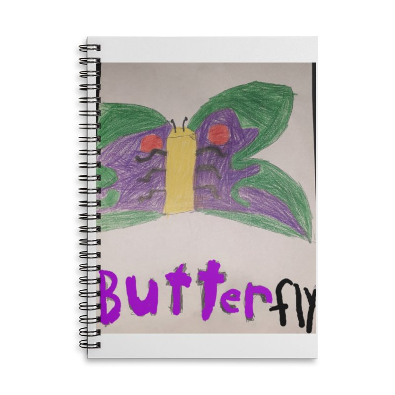 BUTTERfly Accessories Notebook by Mind-art Passion