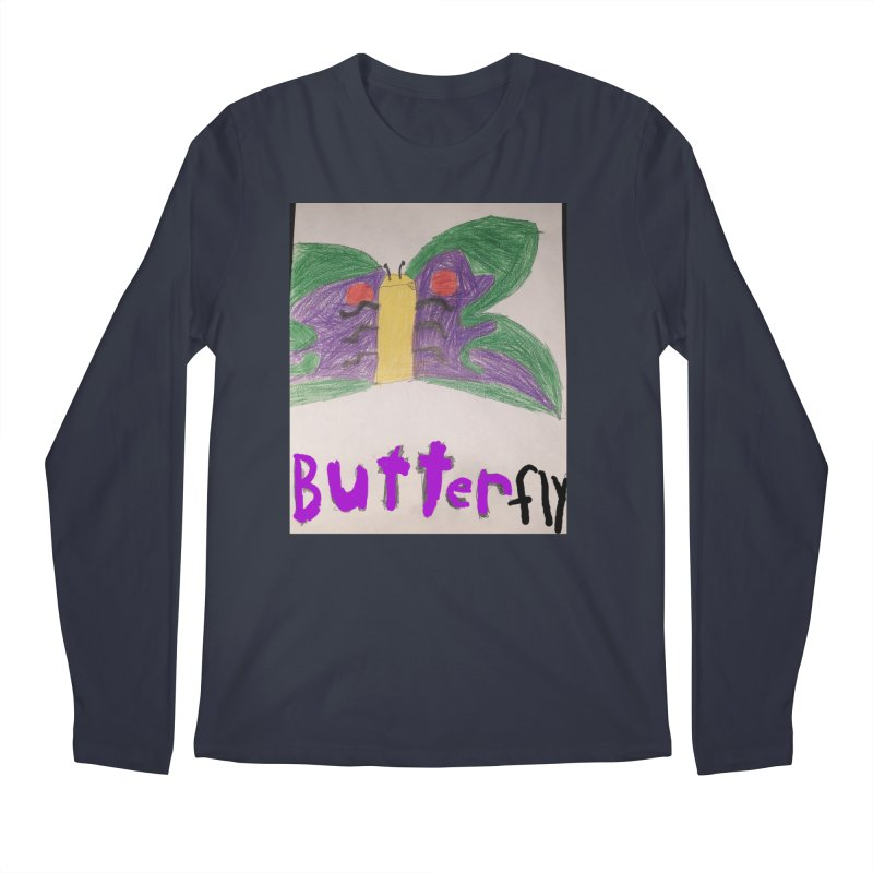 BUTTERfly Men's Longsleeve T-Shirt by Mind-art Passion